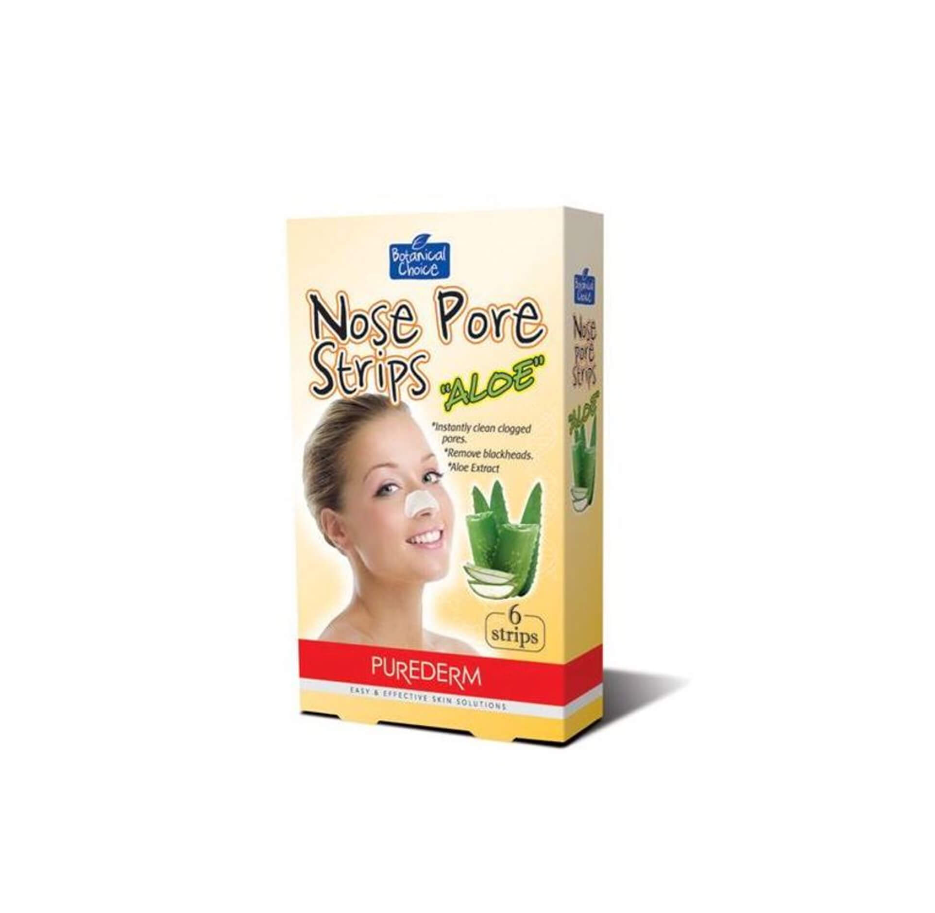 Nose Pore Strips Aloe