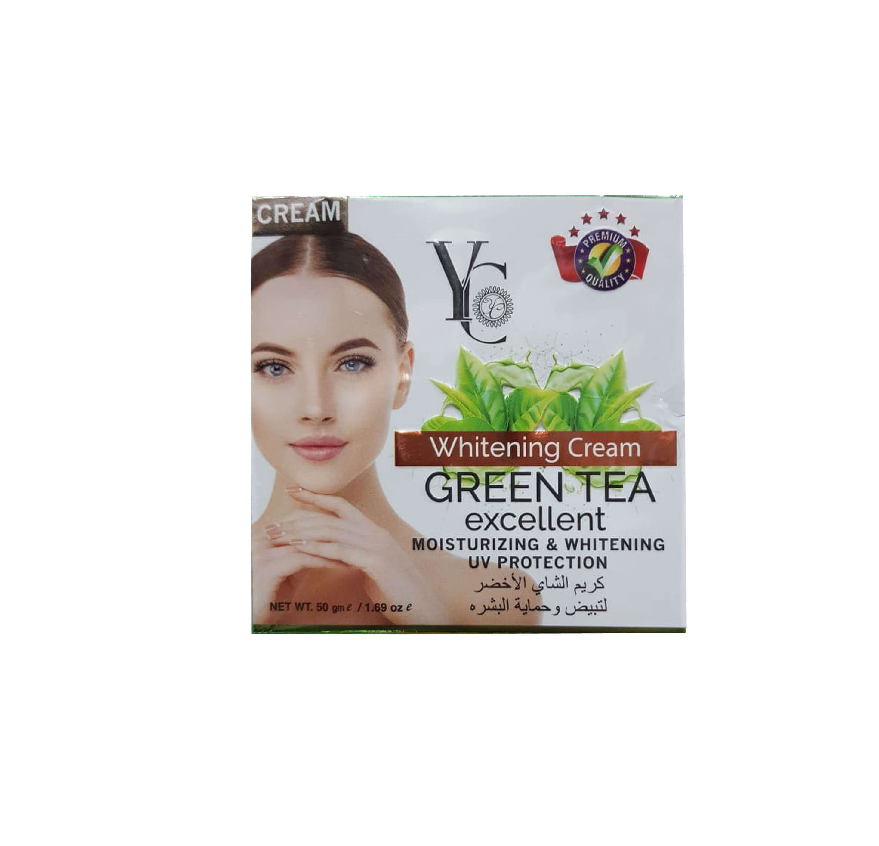 YC Whitening Cream Green Tea
